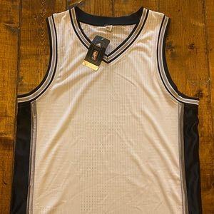 100% Blank San Antonio Spurs Authentic NBA Jersey